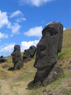 El vigilante de la Isla de Pascua